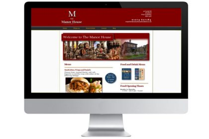 Website Design Public House Doncaster