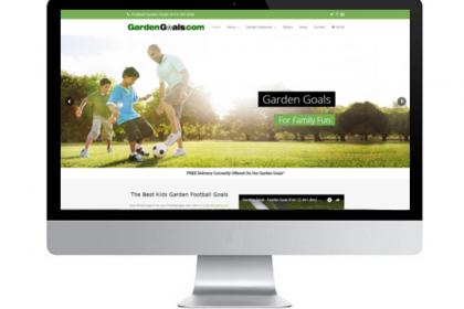 Web Design for Sports Manufacturer Sheffield