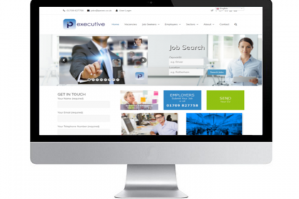 Web Site Design Rotherham Recruitment Agency IP Executive