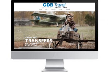 Website Design Worksop Minibus Travel Company