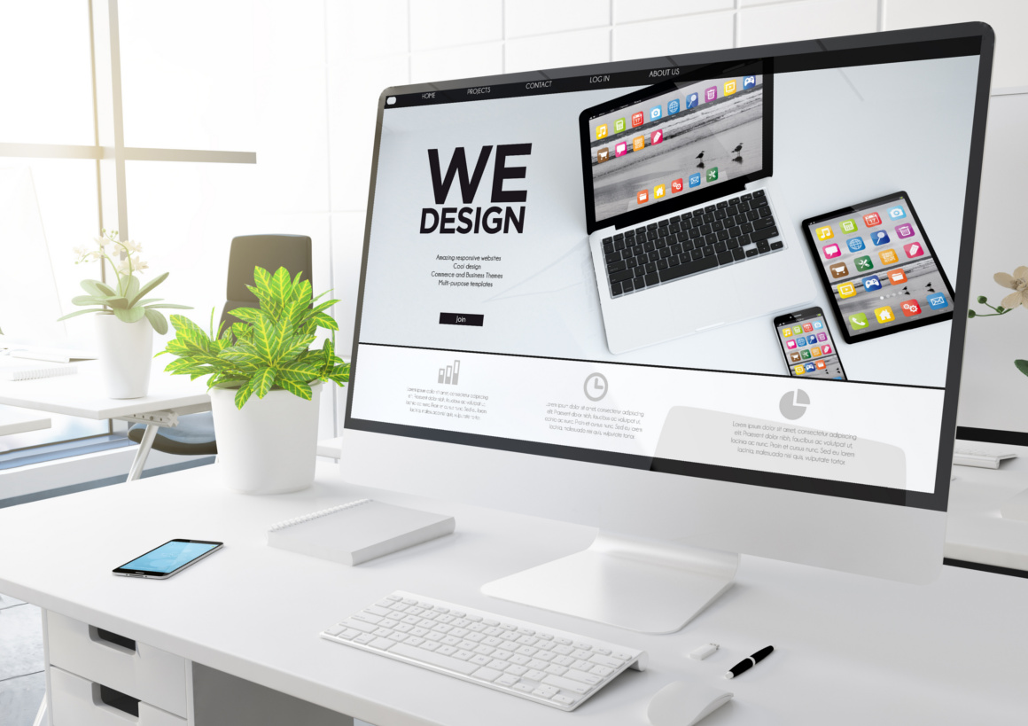 Web design Worksop, Responsive Website image