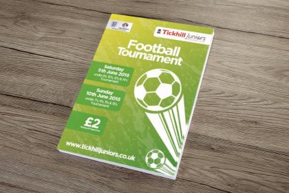 Football Programme Printing TJFC