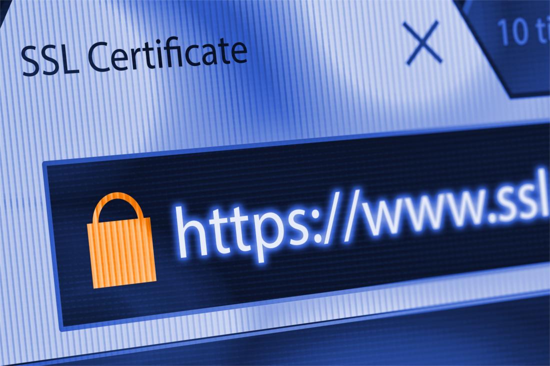 SSL Google Chrome HTTPS Certificate
