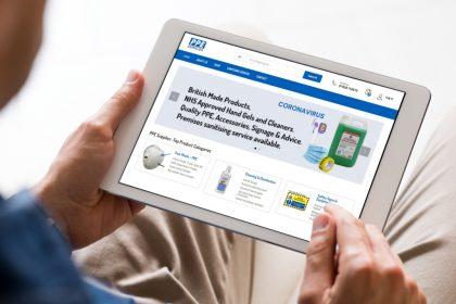 ecommerce website design PPE